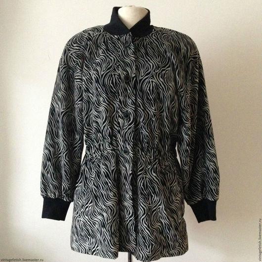 Одежда. Ярмарка Мастеров - ручная работа. Купить Винтажная куртка  ESCADA, 1980-е гг.. Handmade. Винтаж, парка, бархат