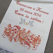 Свадебный салон ручной работы. Ярмарка Мастеров - ручная работа Свадебный рушник. Артикул: 0128. Handmade.
