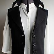 """Одежда ручной работы. Ярмарка Мастеров - ручная работа Жилет """"Адель"""". Handmade."""