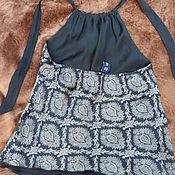 Винтаж handmade. Livemaster - original item Summer top,100% silk,size 40-42,China. Handmade.