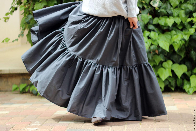 Ярусные юбки для девочек