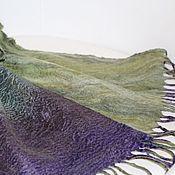 Аксессуары handmade. Livemaster - original item Men`s felted scarf
