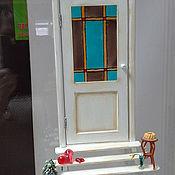 """Картины и панно ручной работы. Ярмарка Мастеров - ручная работа """"Дверь к счастью! Сердечное гостеприимство.""""  -  панно. Handmade."""