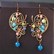 Украшения handmade. Livemaster - original item The Earrings Are A Little Slice Of Heaven. Handmade.