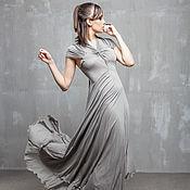 Одежда handmade. Livemaster - original item GGA_022 Dress Cover, gray color. Handmade.
