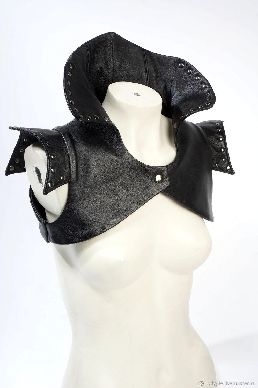 Genuine leather Bolero vest, Vests, Moscow,  Фото №1