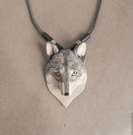 Кулоны, подвески ручной работы. Ярмарка Мастеров - ручная работа. Купить Кулон - Ручной волк. Handmade. Комбинированный, волк, хранитель