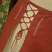 Одежда ручной работы. Ярмарка Мастеров - ручная работа Юбка льняная Нимфа. Handmade.