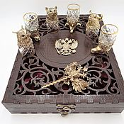 Сувениры и подарки handmade. Livemaster - original item Gift set of glasses-shifters