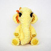 Куклы и игрушки ручной работы. Ярмарка Мастеров - ручная работа Слоник девочка Соул (вязаная крючком игрушка, рост 20 см). Handmade.