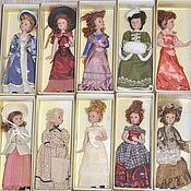 Куклы и игрушки ручной работы. Ярмарка Мастеров - ручная работа Фарфоровые куклы для  кукольных домиков. Handmade.