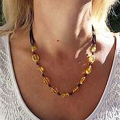 Работы для детей, handmade. Livemaster - original item Amber Beads Solar Decoration Gift on for Mom Sister.. Handmade.