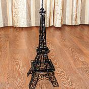 """Для дома и интерьера handmade. Livemaster - original item Eiffel tower the """"Iron lady of Paris"""". Handmade."""