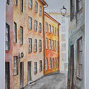 Картины и панно ручной работы. Ярмарка Мастеров - ручная работа Старый город. Handmade.
