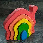 Куклы и игрушки handmade. Livemaster - original item Rainbow house. Handmade.