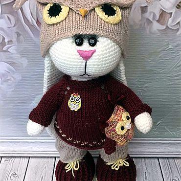 Куклы и игрушки ручной работы. Ярмарка Мастеров - ручная работа Зайка Савелий. Handmade.