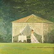 Картины и панно handmade. Livemaster - original item Oil painting on canvas. He will come!. Handmade.
