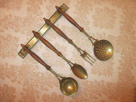 Винтажная посуда. Ярмарка Мастеров - ручная работа. Купить Старинный кухонный набор. Handmade. Золотой, для интерьера кухни, украсить интерьер