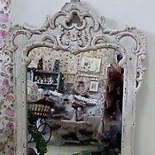 """Для дома и интерьера ручной работы. Ярмарка Мастеров - ручная работа Зеркало """" Старый Замок"""". Handmade."""