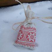 Для дома и интерьера handmade. Livemaster - original item The linen pouch is a small