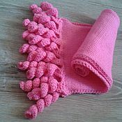 Работы для детей, ручной работы. Ярмарка Мастеров - ручная работа детский шарфик спиралька. Handmade.