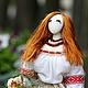 Авторская работа создания и воплощения белорусских традиций в интерьерной кукле тряпиенс  Славянка Лена+Вика=Орпики на Ярмарке Мастеров