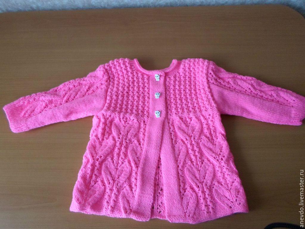 Я мастерица вязание спицами для девочек 3 лет 91