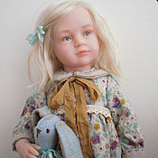 Куклы и игрушки ручной работы. Ярмарка Мастеров - ручная работа Авторская кукла из полимерной глины Стеша. Handmade.