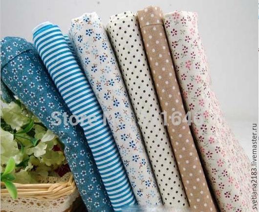 Шитье ручной работы. Ярмарка Мастеров - ручная работа. Купить набор ткани. Handmade. Разноцветный, ткань для творчества, ткань для шитья