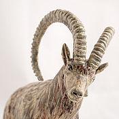 Для дома и интерьера handmade. Livemaster - original item Figurine Siberian ibex. Handmade.