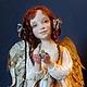 Коллекционные куклы ручной работы. Мой Ангел. Оксана Ладная (Ladnaya). Ярмарка Мастеров. Авторская ручная работа, полимерная глина
