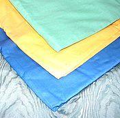 Материалы для творчества ручной работы. Ярмарка Мастеров - ручная работа Ткань хлопок, 3 цвета. Handmade.