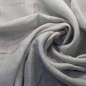 Материалы для творчества ручной работы. Ярмарка Мастеров - ручная работа ЛЕН Фисташковый серый 100%, 100СМ, 180Г/М2, лен натуральный. Handmade.