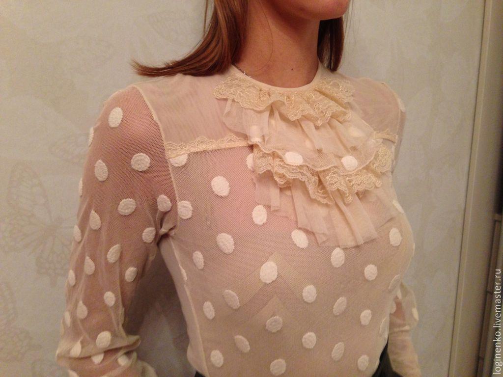 Романтичные блузки доставка