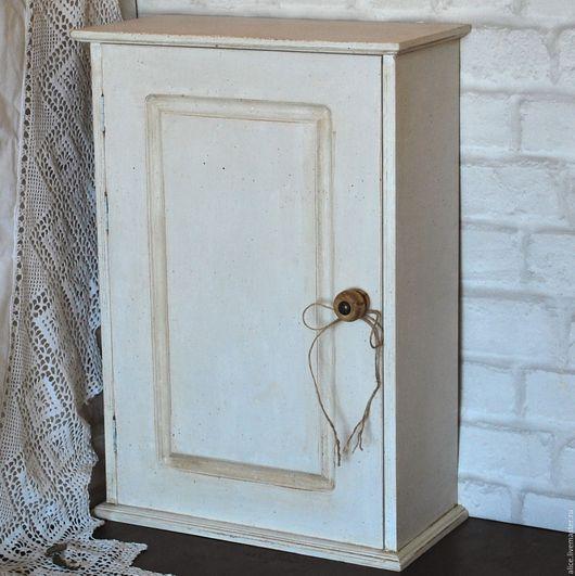 """Мебель ручной работы. Ярмарка Мастеров - ручная работа. Купить Шкафчик """"Борменталь"""". Handmade. Белый, Мебель"""
