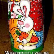 Куклы и игрушки ручной работы. Ярмарка Мастеров - ручная работа Репка 1. Матрешка  7-ми местная. Handmade.