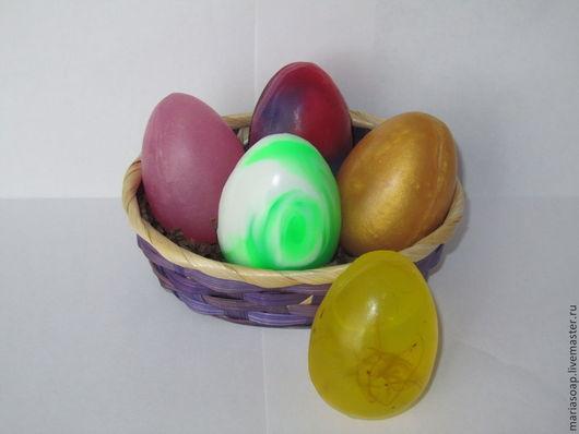 """Мыло ручной работы. Ярмарка Мастеров - ручная работа. Купить Мыло """"Пасхальное яйцо"""". Handmade. Пасха, яйцо пасхальное"""