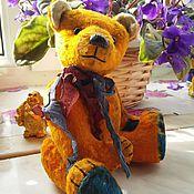 Куклы и игрушки ручной работы. Ярмарка Мастеров - ручная работа Авторский мишка Тедди Sunny. Handmade.