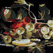 Картины и панно ручной работы. Ярмарка Мастеров - ручная работа Натюрморт с виноградом. Handmade.
