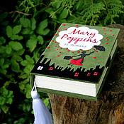 """Сумки и аксессуары ручной работы. Ярмарка Мастеров - ручная работа Клатч-книга ``Mary Poppins"""" by P.L.TRAVERS. Handmade."""