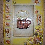 Картины и панно ручной работы. Ярмарка Мастеров - ручная работа Картины из соленого теста, шкатулки. Handmade.