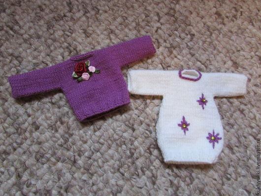 Одежда для кукол ручной работы. Ярмарка Мастеров - ручная работа. Купить Свитера для кукол. Handmade. Одежда для кукол, кукольные свитерки