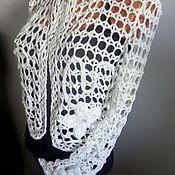 Одежда handmade. Livemaster - original item openwork jacket. Handmade.