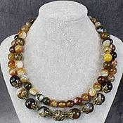 Украшения handmade. Livemaster - original item Agate necklace. Necklace natural agate. Handmade.