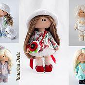 Куклы и игрушки handmade. Livemaster - original item textile doll, interior doll. Handmade.