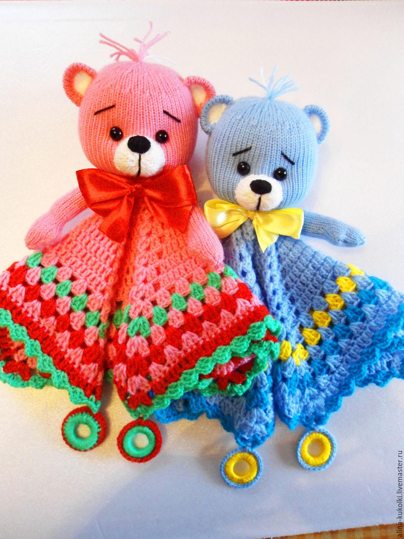 Вязание игрушек для новорожденных крючком 92