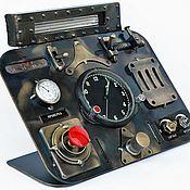 Для дома и интерьера ручной работы. Ярмарка Мастеров - ручная работа Часы механика-водителя. Handmade.