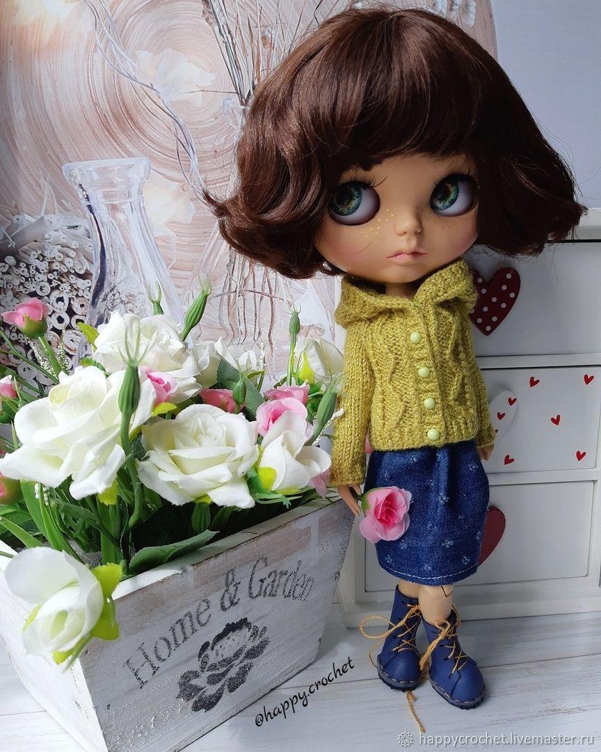 Кофта для куколки Блайз, Одежда для кукол, Барнаул,  Фото №1