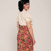 Одежда handmade. Livemaster - original item Pencil skirt in the style of ROCKABILLY