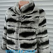 Одежда handmade. Livemaster - original item Fur coat from natural fur of a rabbit
